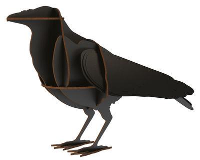 Décoration Edgar / A poser - L 26 x H 43 cm - Ibride noir en bois