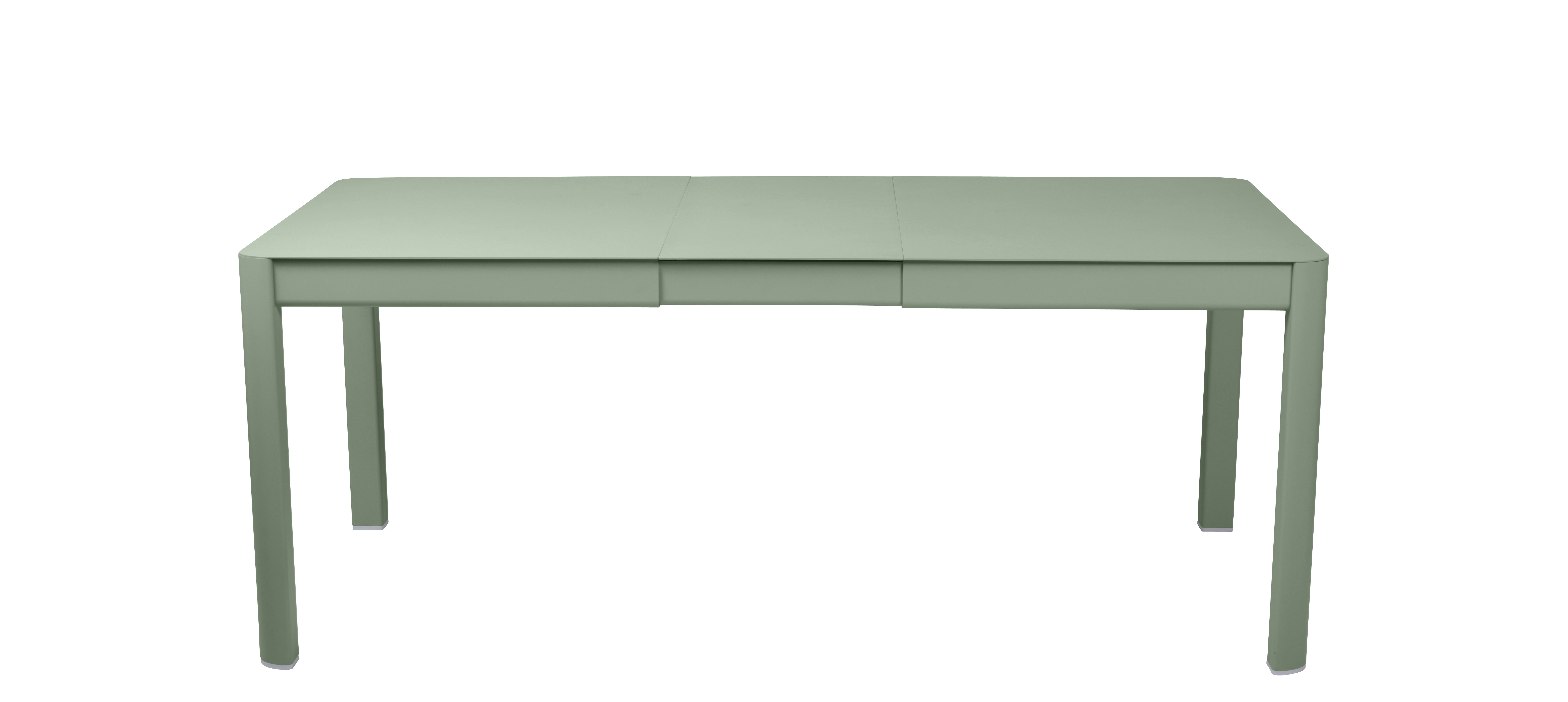 Outdoor - Garden Tables - Ribambelle Small Extending table - / L 149 to 191 cm - 6 to 8 people by Fermob - Cactus - Aluminium