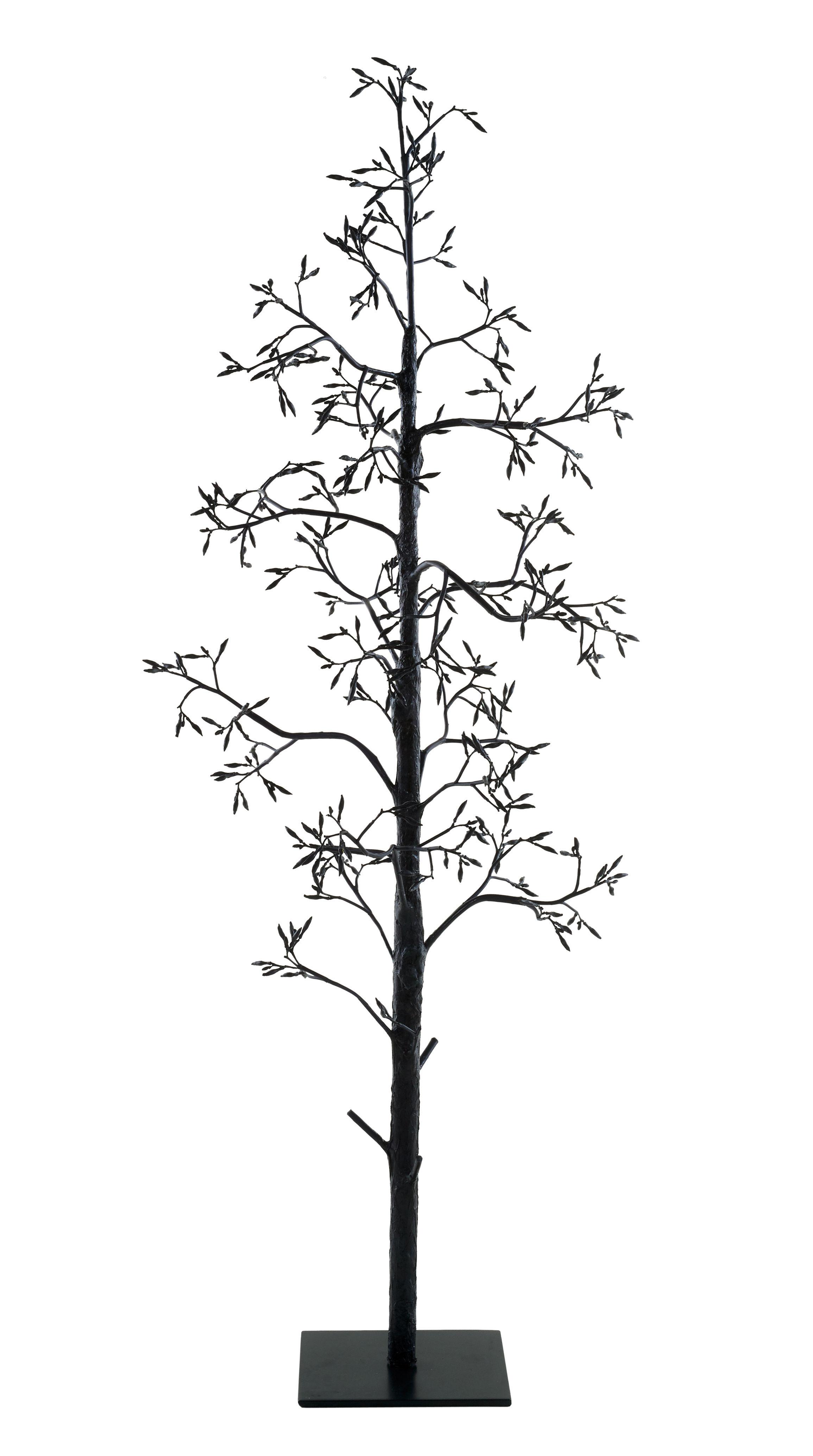Fleur D Agave Fabric Plant O 65 Cm X H 190 Cm Black By Pols