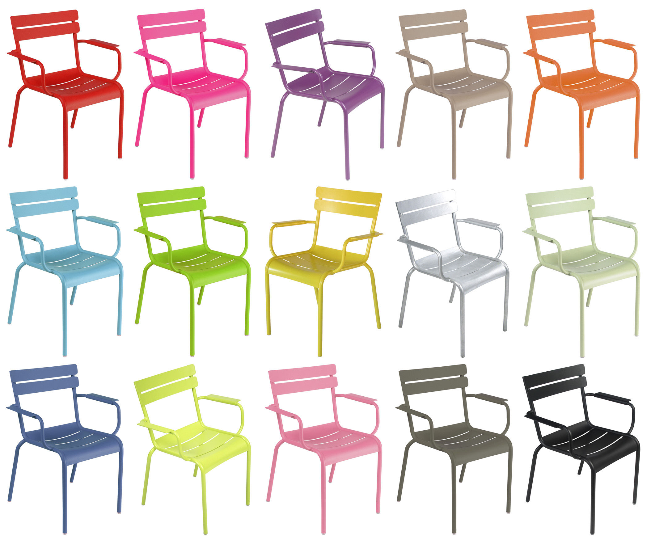 Fauteuil Empilable Luxembourg Fermob
