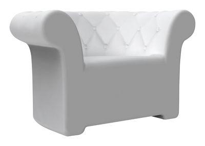 Chaise Sirchester - Serralunga blanc en matière plastique
