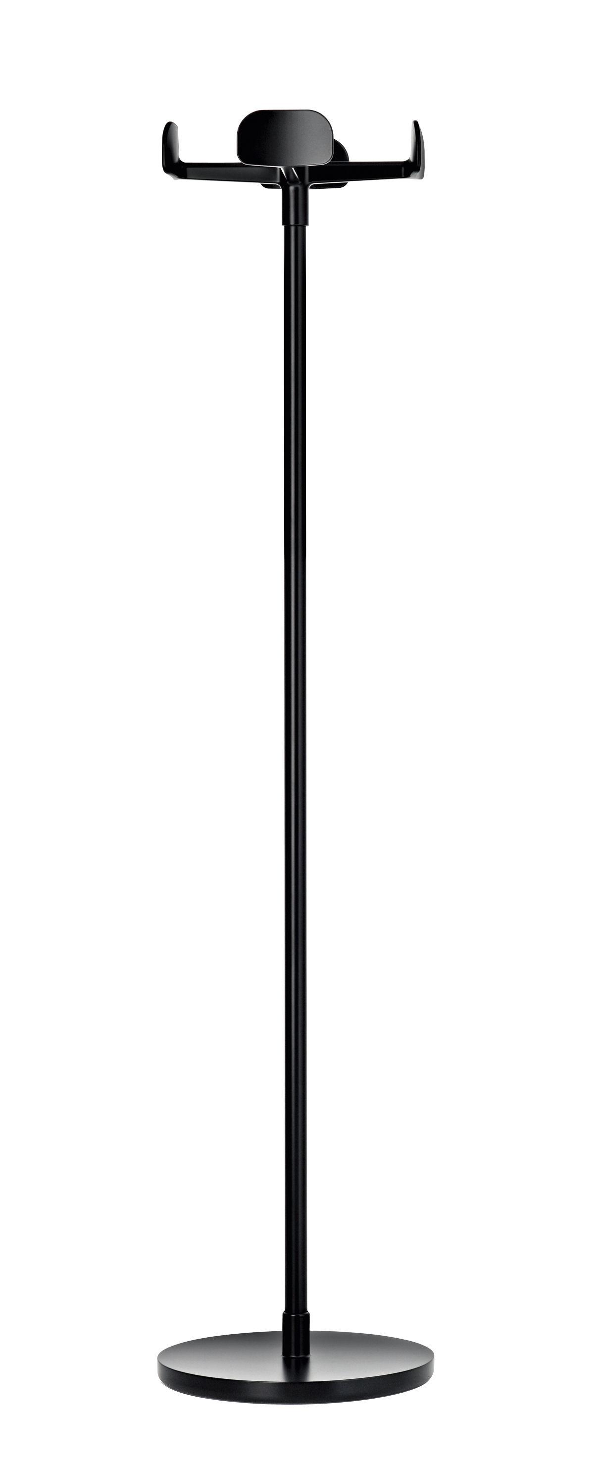 Möbel - Garderoben und Kleiderhaken - Four leaves Garderobe - Magis - Schwarz - klarlackbeschichtetes Aluminium