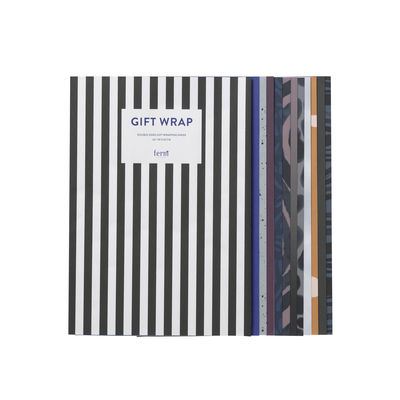 Decoration - Home Accessories - Gift wrapping paper - / Book of 12 sheets by Ferm Living - Multicoloured - Papier recyclé