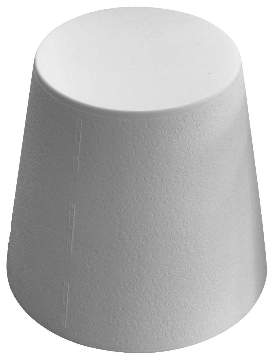 Möbel - Möbel für Teens - Ali Baba Hocker - Slide - Weiß - polyéthène recyclable