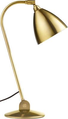 Lampe de table Bestlite BL2 / Réédition de 1930 - Abat-jour métal - Gubi laiton en métal