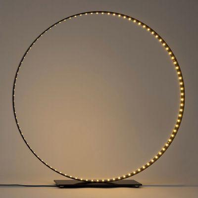 Lampe de table Classic / LED - Ø 63 cm - Le Deun noir en métal
