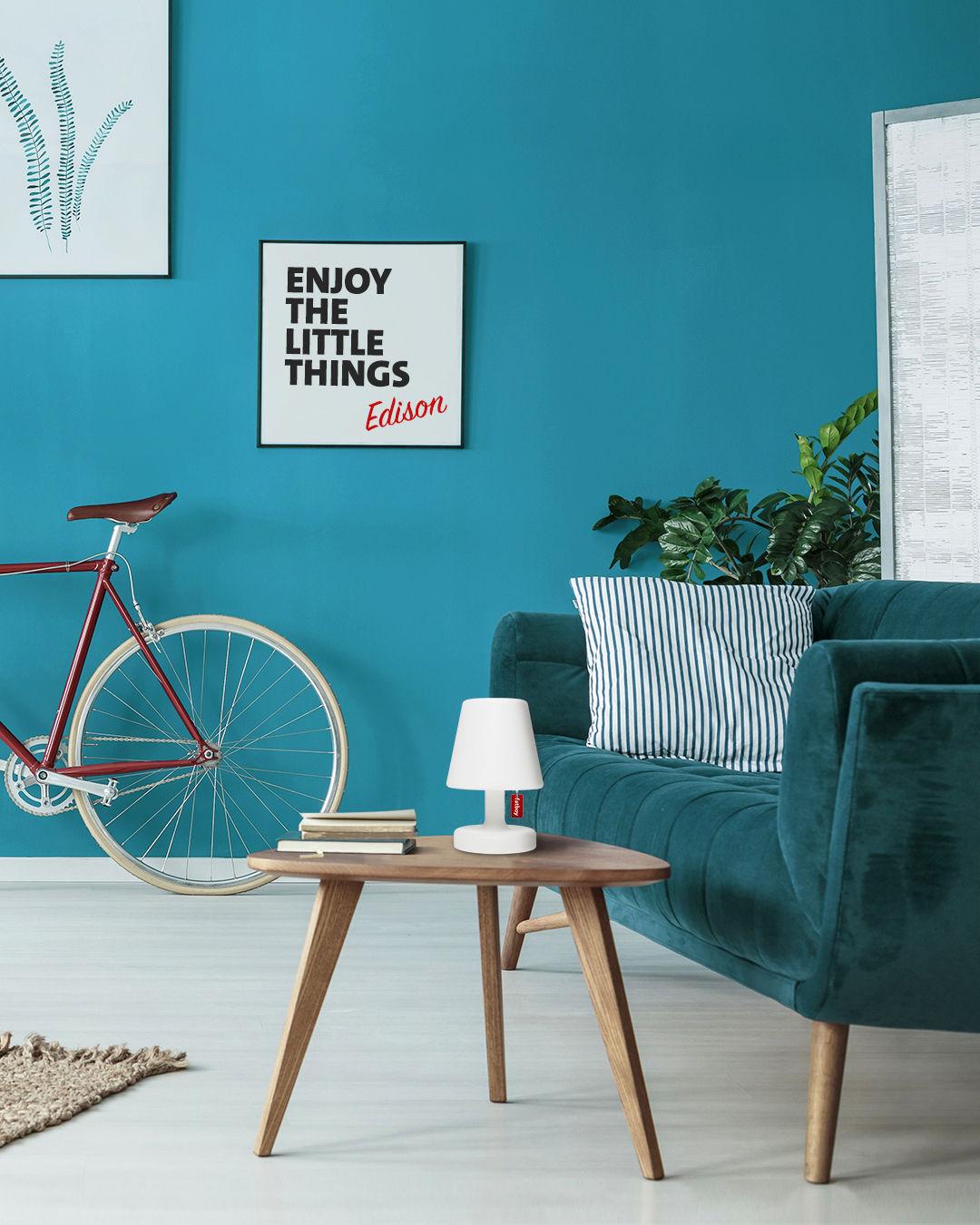 lampe ohne kabel edison the petit ii von fatboy wei. Black Bedroom Furniture Sets. Home Design Ideas
