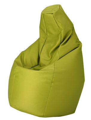 Image of Pouf Sacco Outdoor - / Per l'esterno - Tessuto di Zanotta - Verde - Tessuto