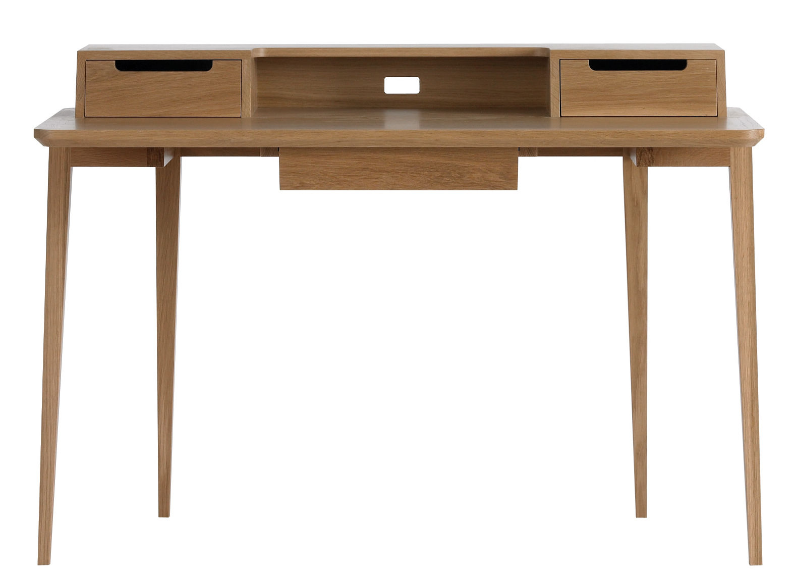 Möbel - Büromöbel - Treviso Schreibtisch - Ercol - Holz natur - massive Eiche