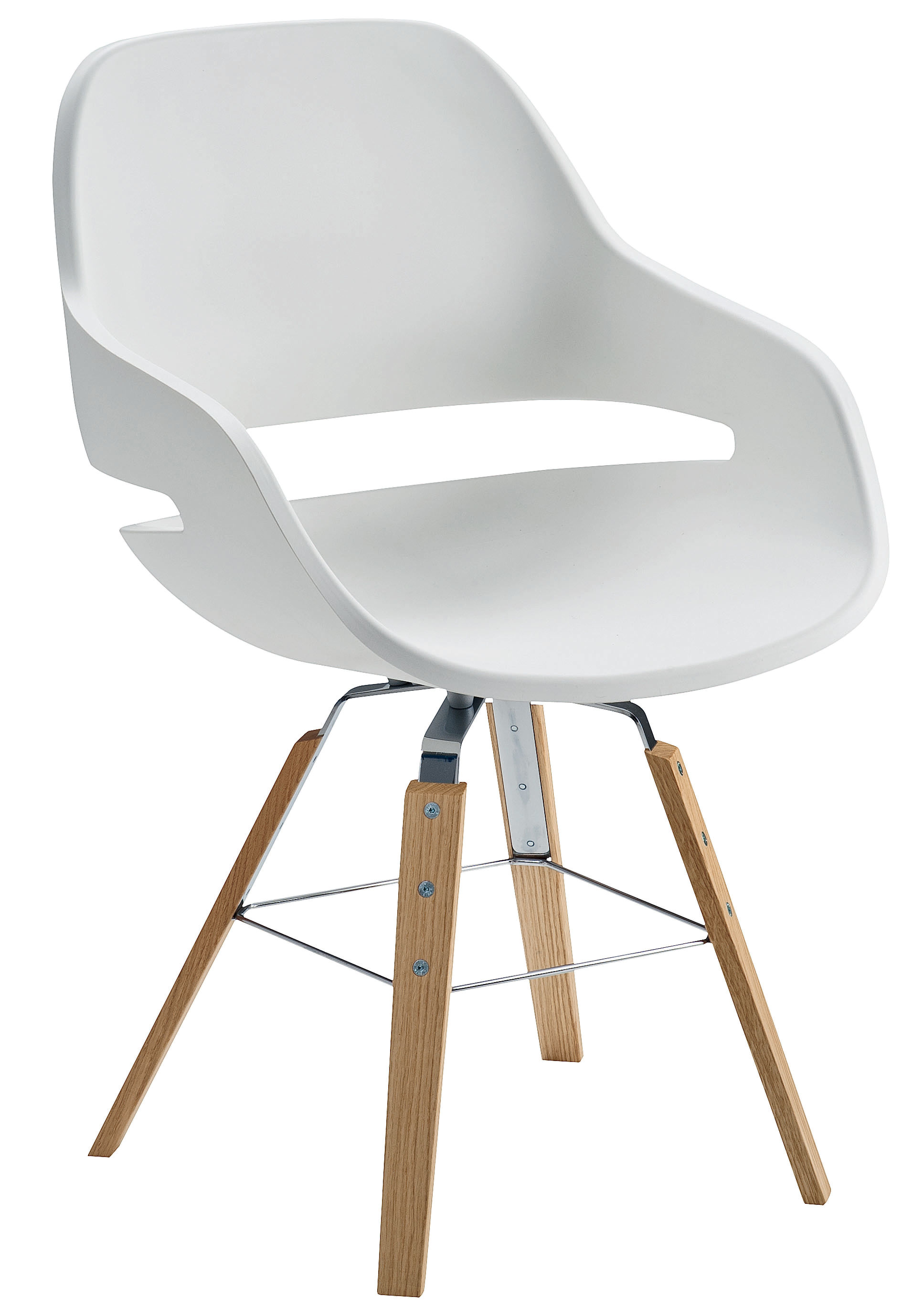 eva sessel polyurethan stuhlbeine aus holz sitzschale wei stuhlbeine holz natur by. Black Bedroom Furniture Sets. Home Design Ideas