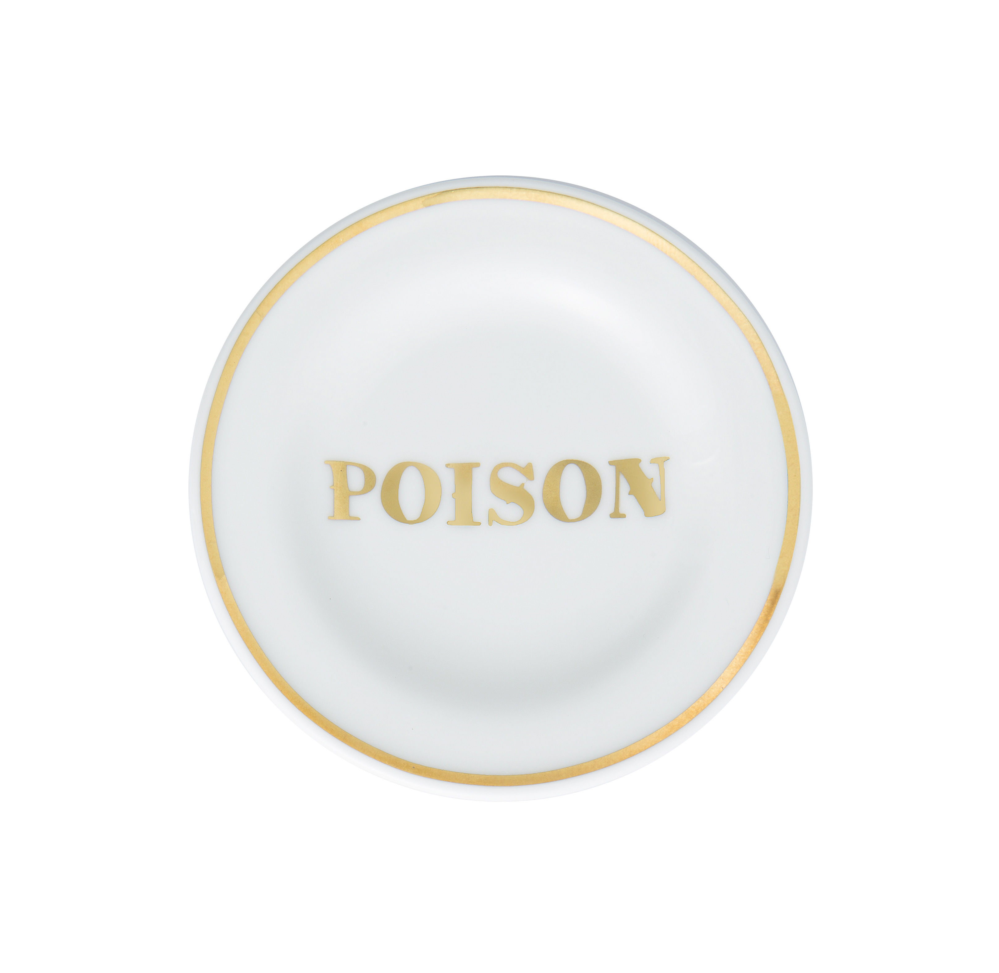 Tableware - Plates - Poison Small dish - / Ø 9.5 cm by Bitossi Home - Poison - China