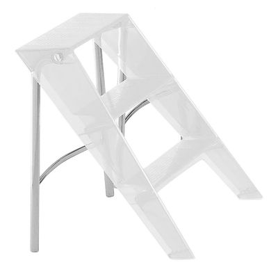 Furniture - Miscellaneous furniture - Upper Stepladder by Kartell - cristal - Polycarbonate