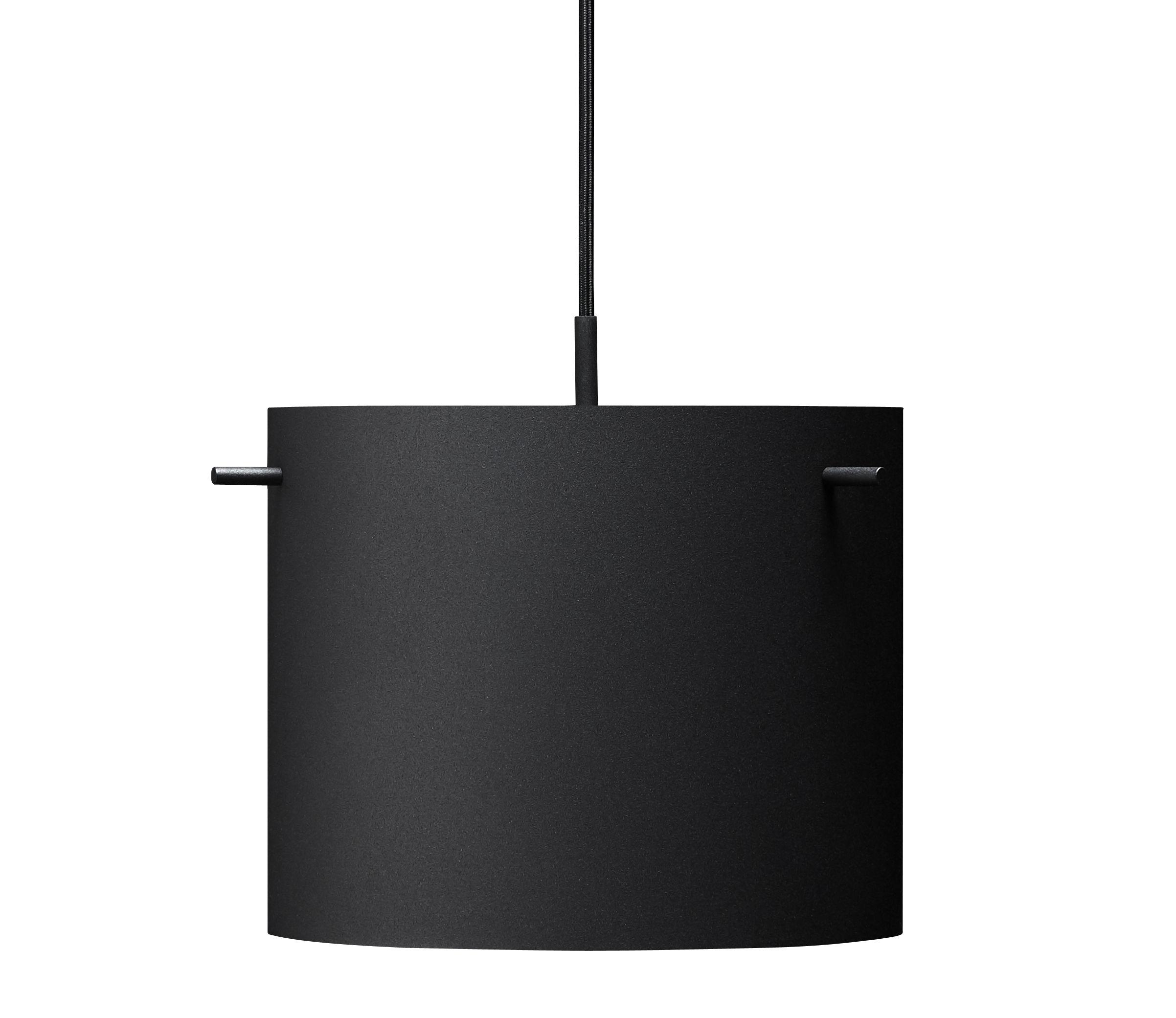 Luminaire - Suspensions - Suspension FM 1954 / Medium - Ø 28 x H 23 cm - Rewired - Noir - Acier laqué époxy