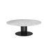 Table basse Scala / Ø 130 x H 40 cm - Marbre blanc - Normann Copenhagen