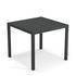 Tavolo quadrato Nova - / Metallo - 90 x 90 cm di Emu