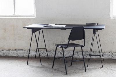 Tavolo rettangolare Studio Simple - / con cavalletti - 150 x 75 cm di Serax