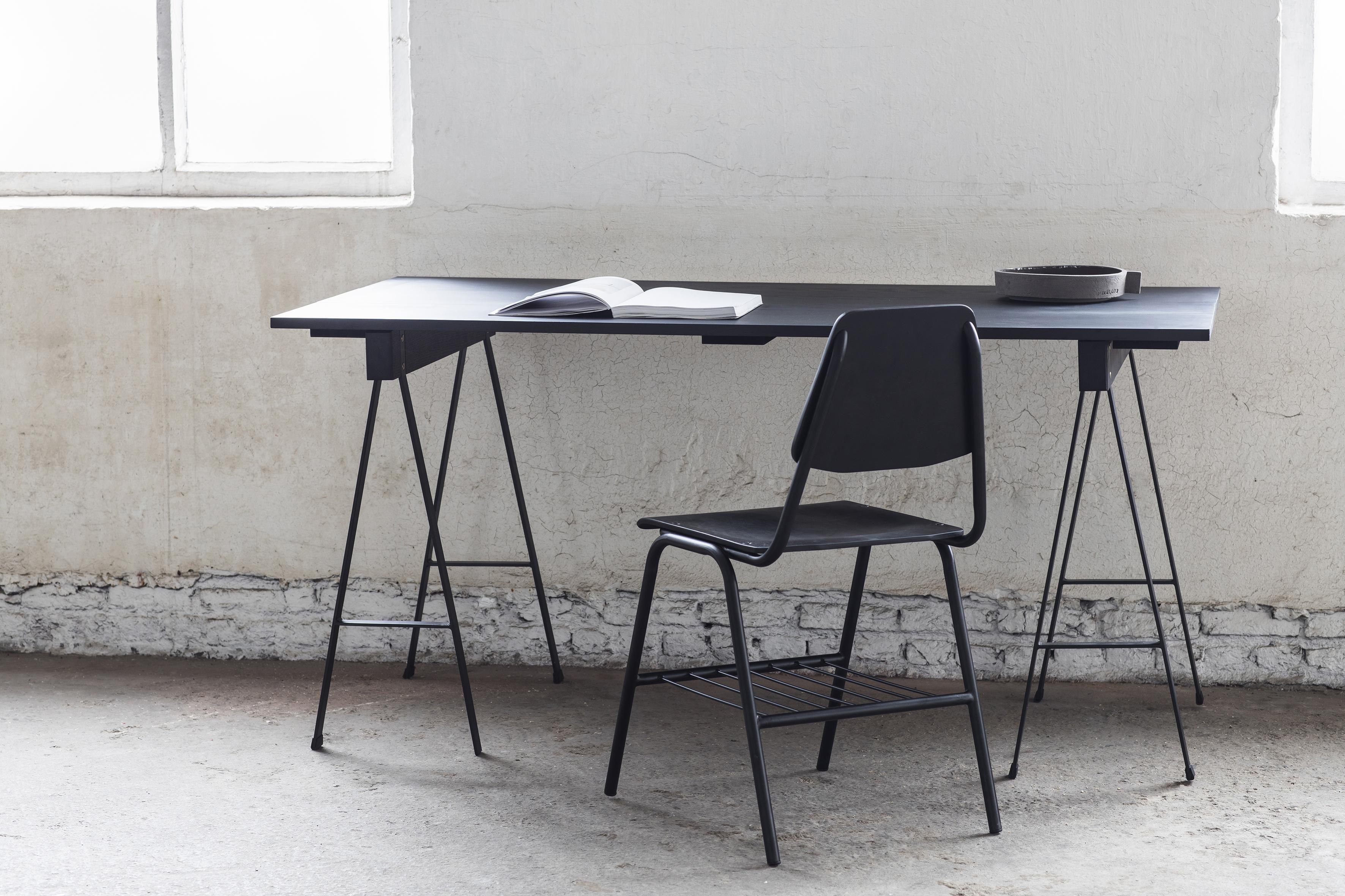 Tavolo rettangolare Studio Simple di Serax - Nero | Made In Design