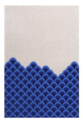 Marin Teppich / 240 x 170 cm - Hartô - Weiß,Blau
