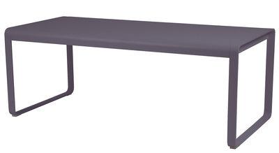 Bellevie Tisch / L 196 cm - für 8 bis 10 Personen - Fermob - Pflaume