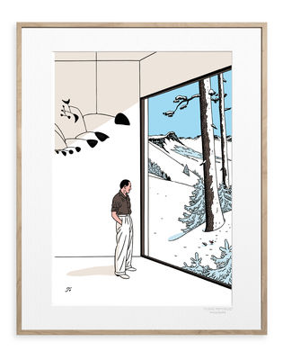 Déco - Stickers, papiers peints & posters - Affiche Floc'h - Inside Out / 40 x 50 cm - Image Republic - Inside Out - Papier