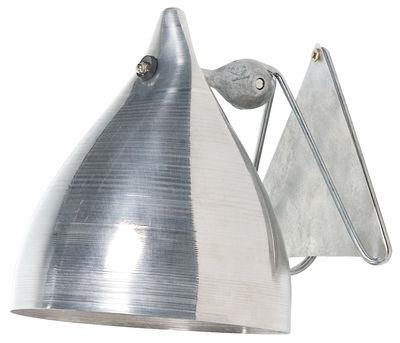 Luminaire - Appliques - Applique Cornette en aluminium - Tsé-Tsé - Aluminium - Aluminium anodisé