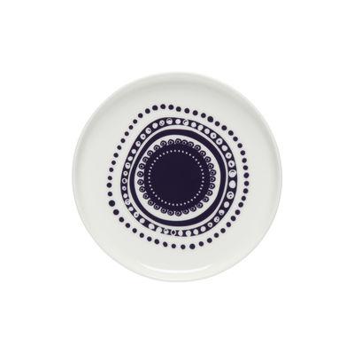 Arts de la table - Assiettes - Assiette à mignardises Svaale / Ø 13,5 cm - Marimekko - Svaale / Violet - Grès