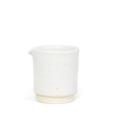 Image of Bricco per latte Otto Small - / Ø 7 x H 8 cm di Frama - Bianco - Ceramica