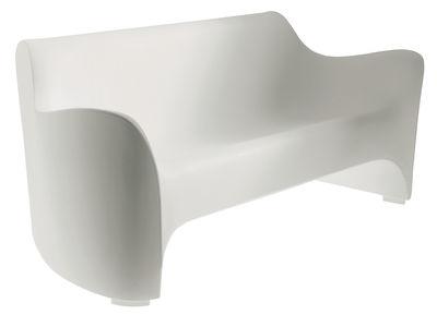 Outdoor - Canapés - Canapé droit Tokyo Pop / L 177  cm - Driade - Blanc - Polyéthylène