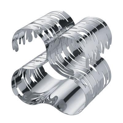 Casier à bouteilles Barkcellar / 4 bouteilles - Alessi acier en métal