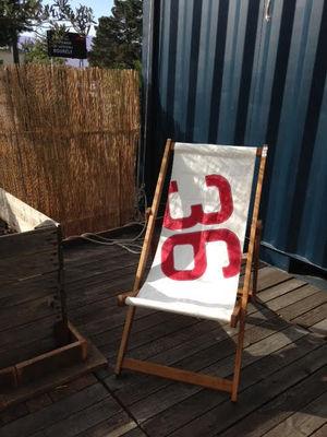 jardin chaises longues et hamacs chaise longue transat 3 positions voile bateau - Chaise Longue Transat