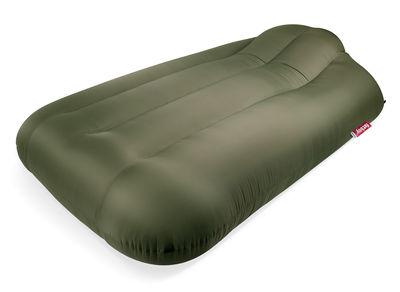 Matelas gonflable Lamzac XXXL / L 218 x Larg 130 cm - Fatboy vert olive en tissu