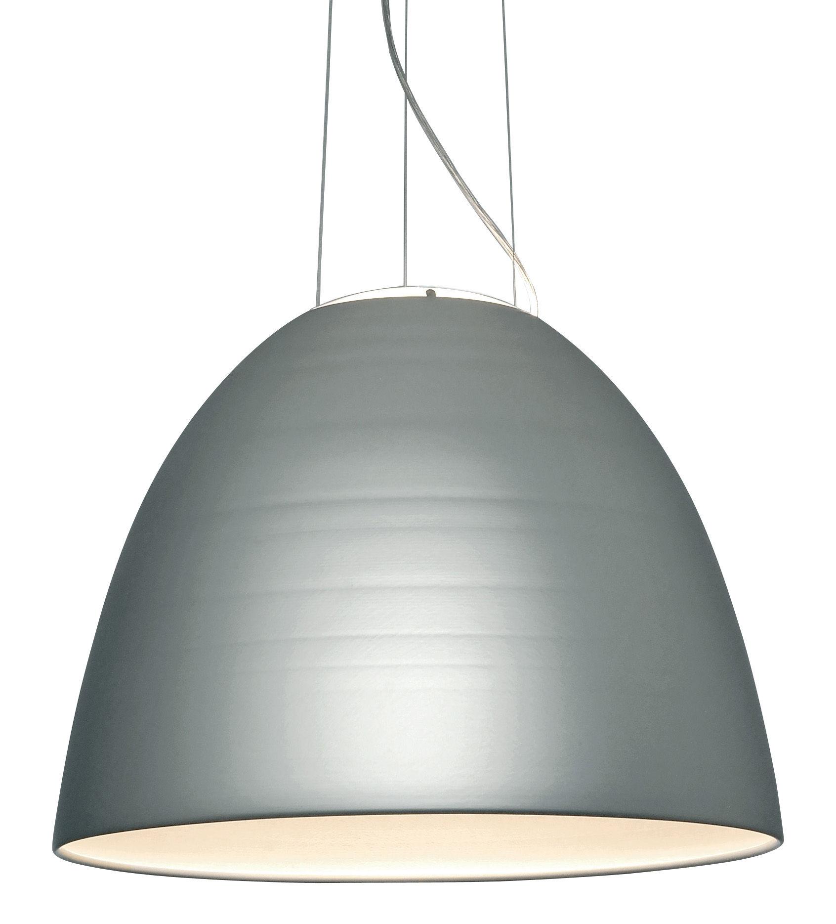 Lighting - Pendant Lighting - Nur LED Pendant by Artemide - Anodized aluminium - Aluminium, Glass