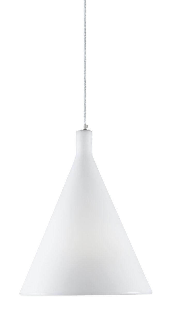 Leuchten - Pendelleuchten - Juxt Pendelleuchte - Slide - Weiß - polyéthène recyclable
