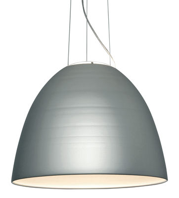 Leuchten - Pendelleuchten - Nur LED Pendelleuchte / Ø 55 cm - Artemide - Eloxiertes Aluminium - Aluminium, Glas
