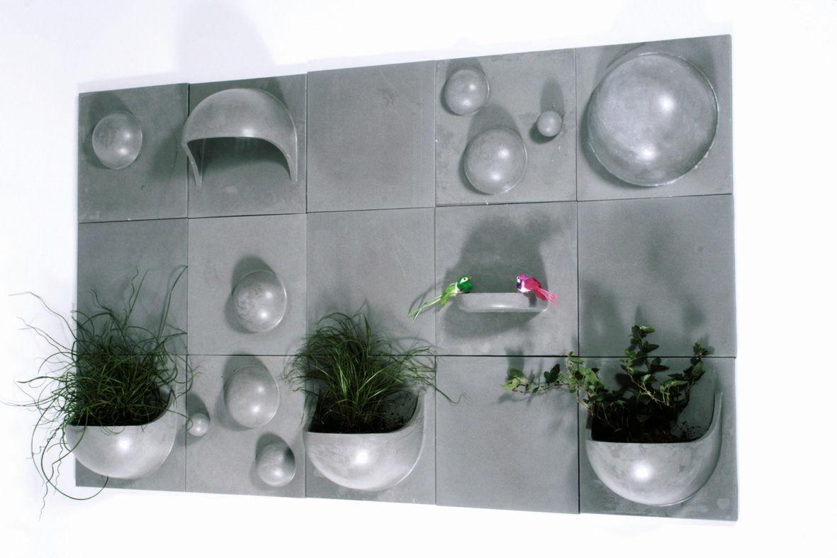 Bulles piastrella con bolle decorative calcestruzzo by la