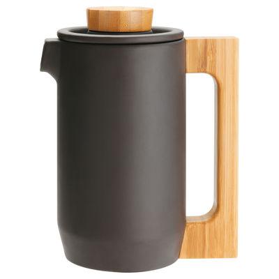 Arts de la table - Thé et café - Pot à café Purple Clay avec couvercle - JIA - Noir - Pot à café - Argile, Bambou