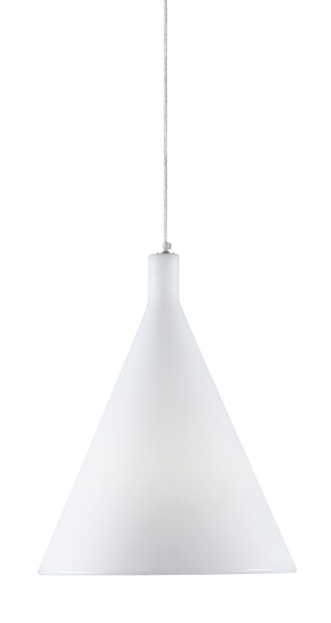 Illuminazione - Lampadari - Sospensione Juxt di Slide - Bianco - polyéthène recyclable