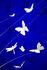 Sospensione La festa delle Farfalle - / LED - Ø 60 x H 110 cm di Ingo Maurer