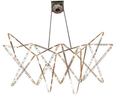 Luminaire - Suspensions - Suspension Vaisseau céleste articulée - Tsé-Tsé - Acier - Acier inoxydable