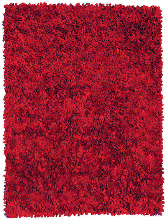 Mobilier - Tapis - Tapis Roses 200 x 300 cm - Nanimarquina - Rouge - Laine