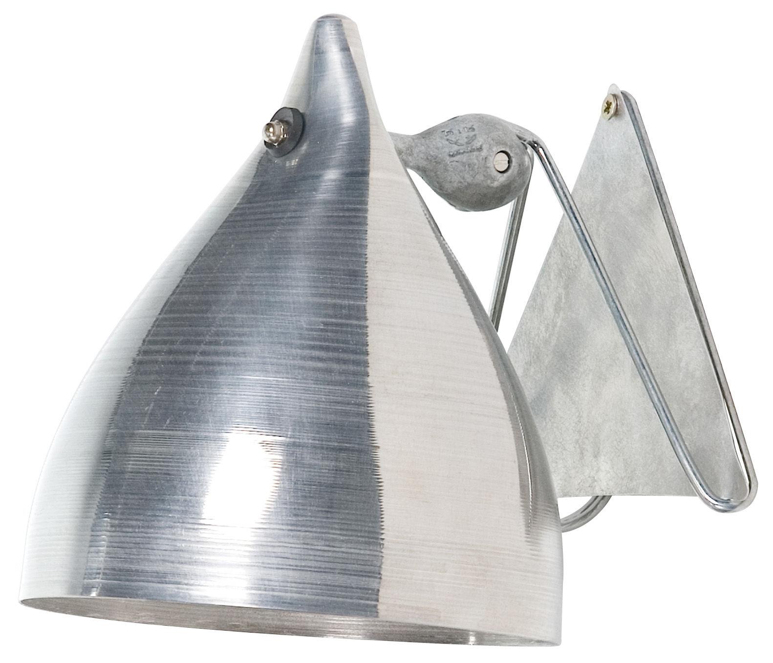 Leuchten - Wandleuchten - Cornette Wandleuchte aus Aluminium - Tsé-Tsé - Aluminium - eloxiertes Aluminium
