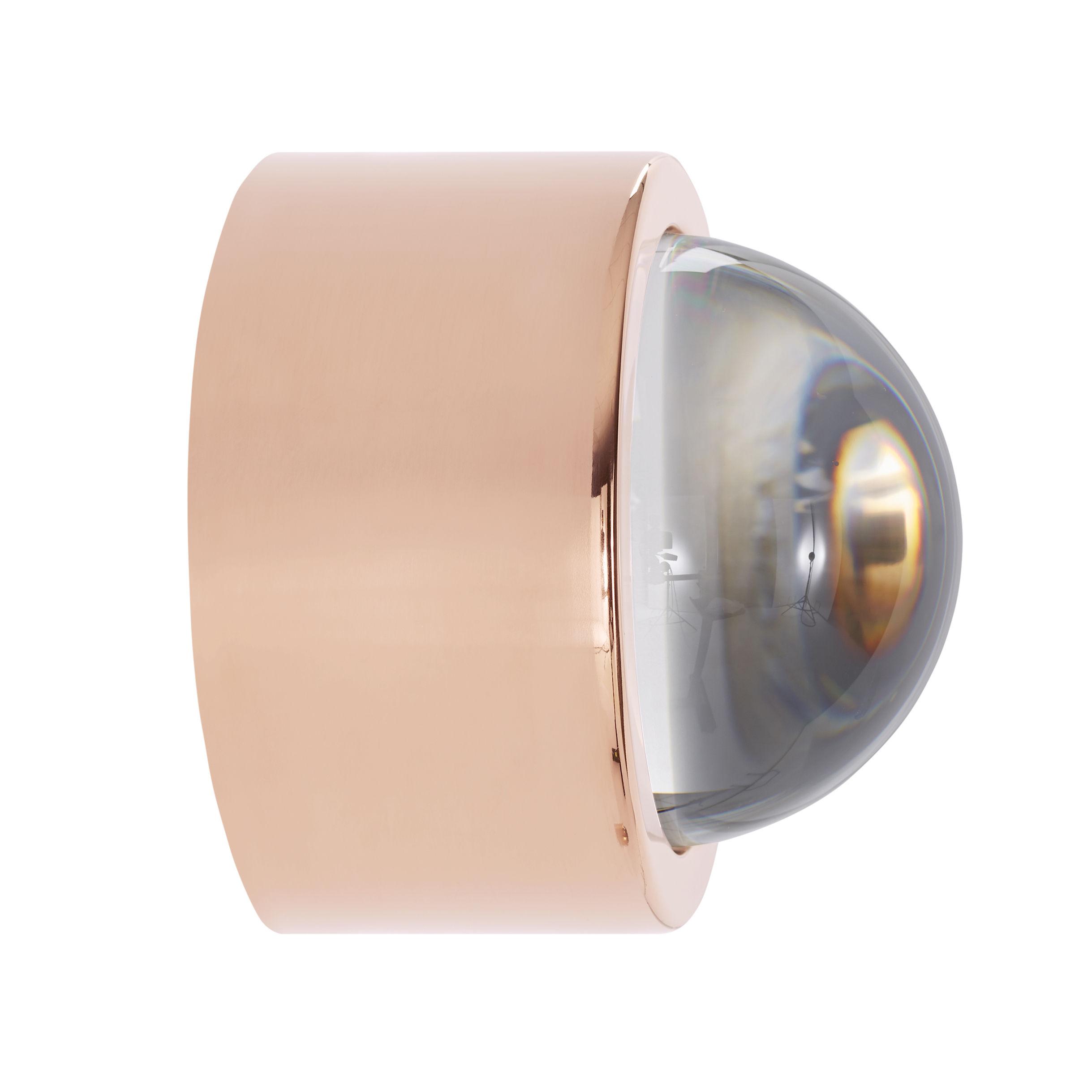 applique spot led ronde 10 cm cuivre tom dixon. Black Bedroom Furniture Sets. Home Design Ideas