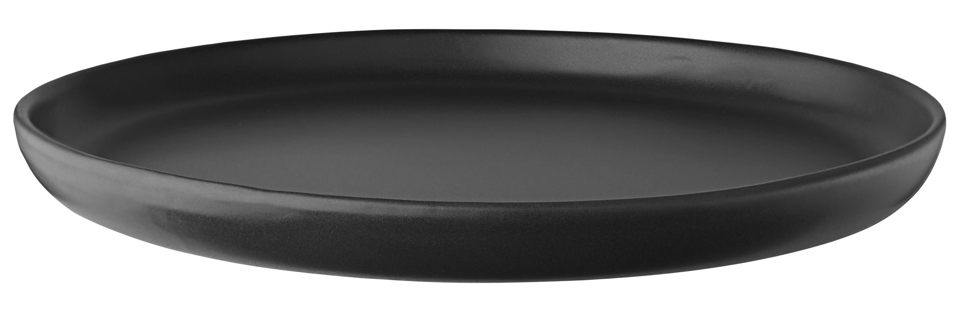 Arts de la table - Assiettes - Assiette plate Nordic kitchen / Ø 25 cm - Grès - Eva Solo - Ø 25 cm / Noir mat - Grès