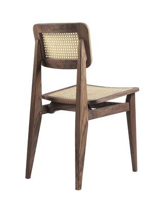 Chaise C Chair Gubi Beige Bois Naturel Made In Design