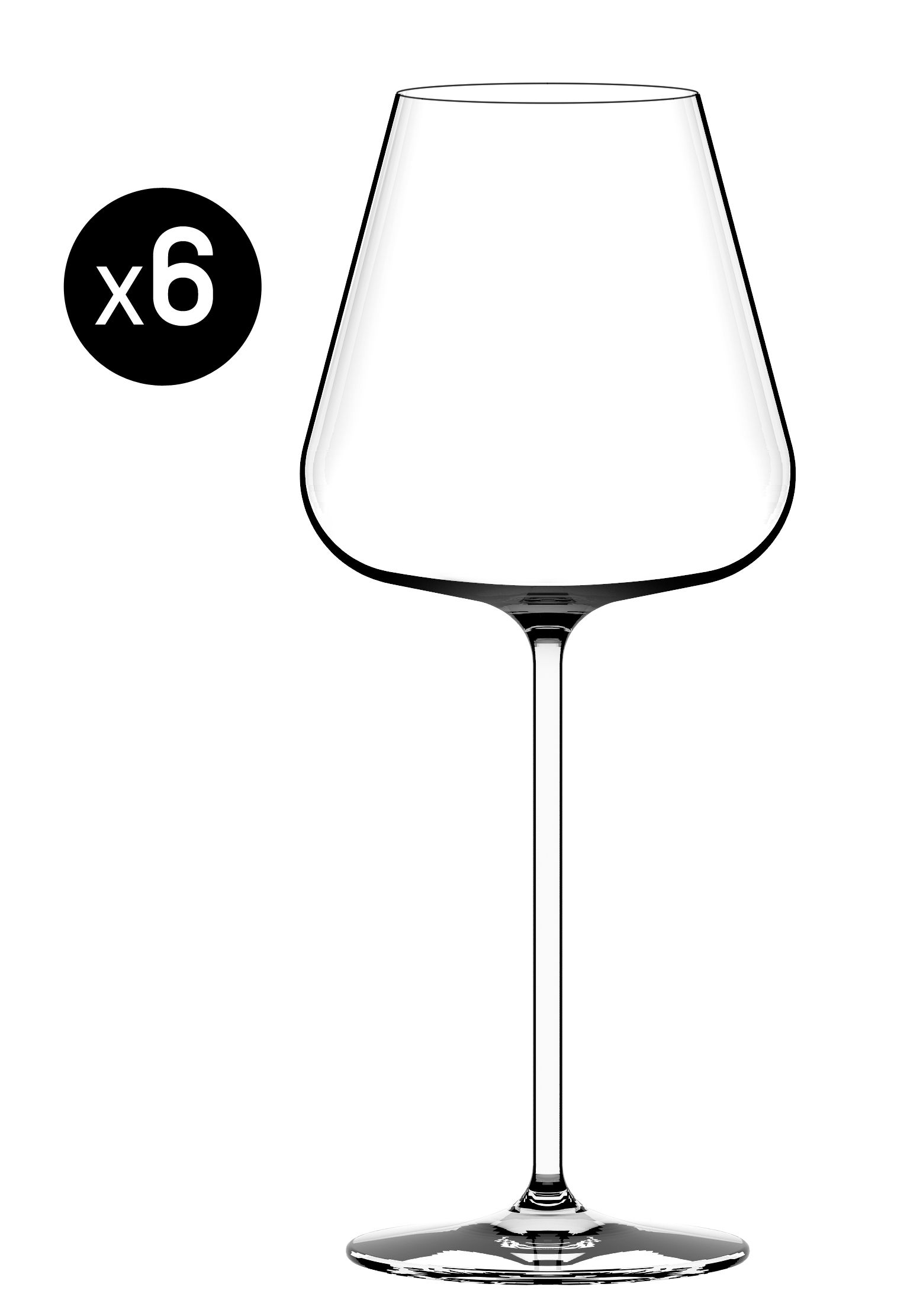 Tableware - Wine Glasses & Glassware - Sparkle Champagne glass - 48 cl - Set of 6 by Italesse - Transparent - 45 cl - Glass