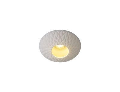 Sopra Downlight Deckenleuchte / Einbauspot - Porzellan mit Stepp-Effekt - Original BTC - Weiß