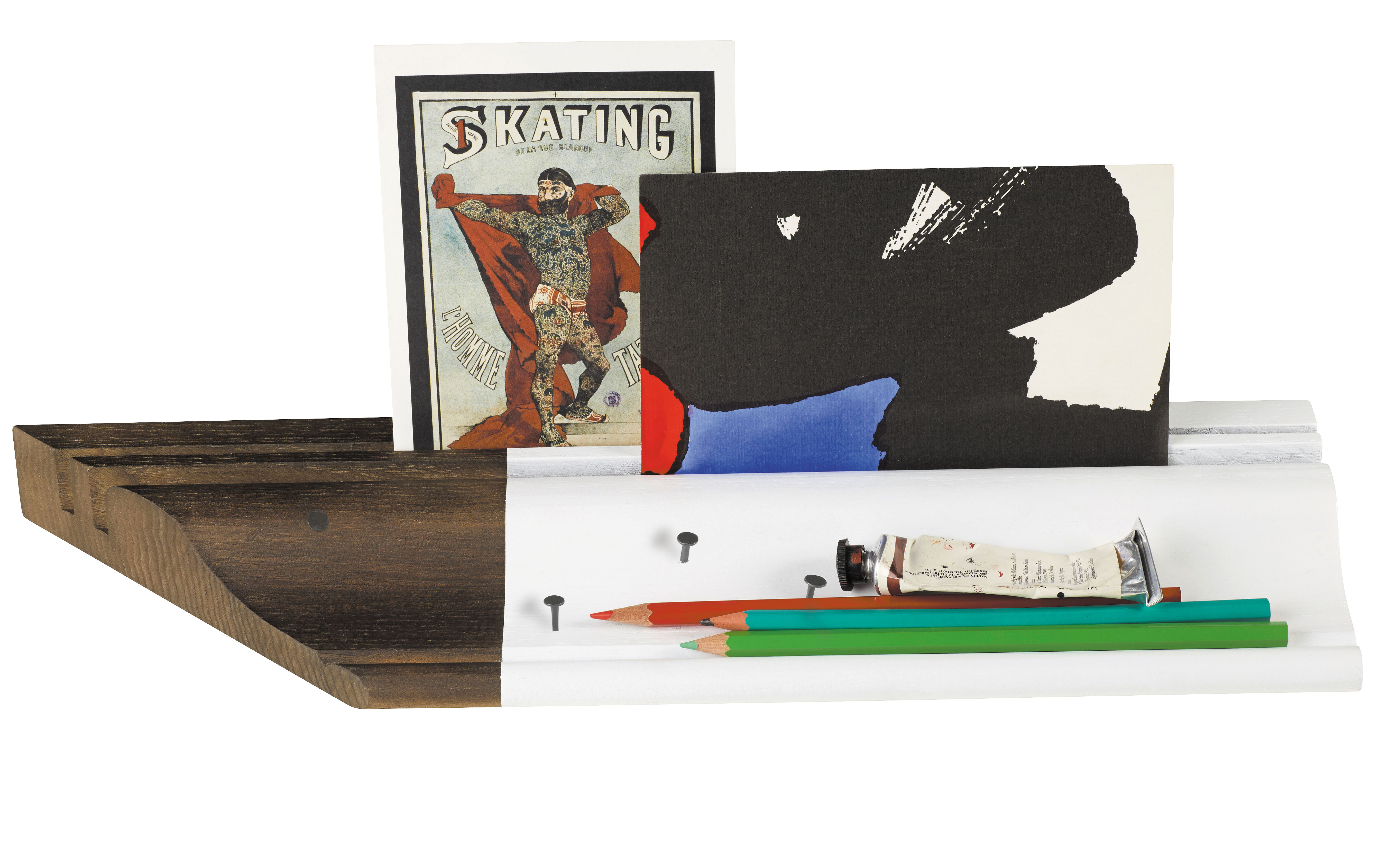 Desk organizer fragment de bureau by maison martin margiela dark