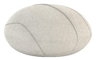 Möbel - Möbel für Teens - Hervé Livingstones Kissen Wolle / für den Inneneinsatz - 41 x 36 cm - Smarin - Weiß - 41 x 36 cm / H 23 cm - Polysilikon-Faser, Wolle