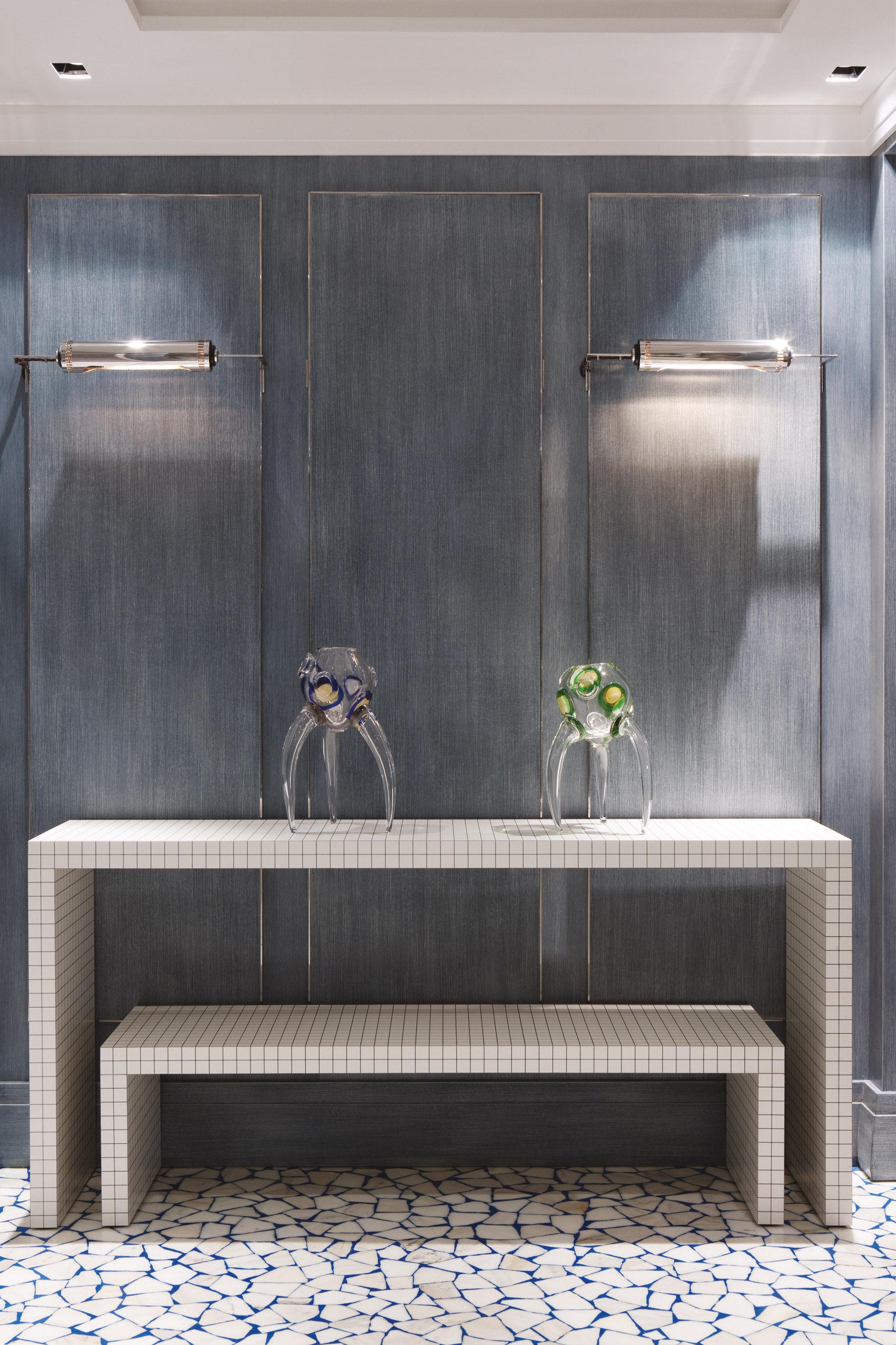 Möbel - Konsole - Quaderna Konsole - Zanotta - Weiß / schwarz - Hohlplatte, laminiertes Plastik