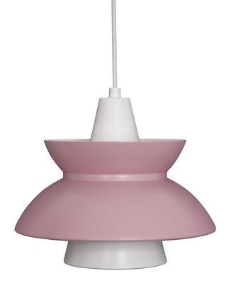 Lighting - Pendant Lighting - Doo-Wop Pendant - / Limited edition 20 years of MID by Louis Poulsen - Pink - Aluminium